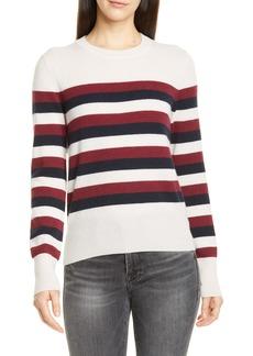 Equipment Cielle Stripe Wool & Cashmere Sweater
