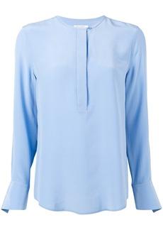 Equipment collarless blouse - Blue