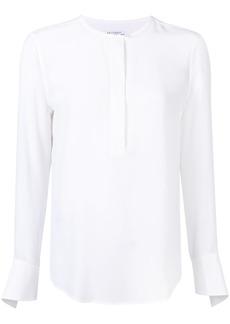 Equipment collarless blouse - White
