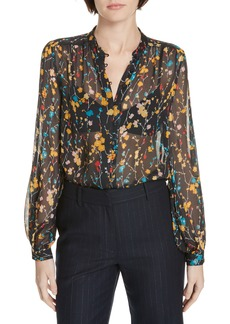 Equipment Cornelia Print Silk Blouse