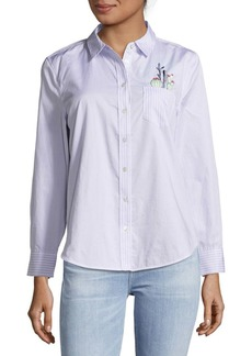 Equipment Cotton Casual Button-Down Shirt