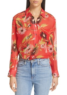Equipment Daddy Floral Silk Shirt
