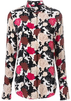 Equipment Daphne floral printed shirt