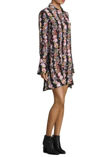 Equipment Daphne Silk Floral Dress