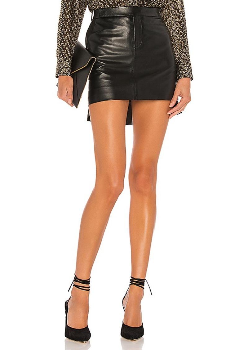 Equipment Delafine Leather Skirt