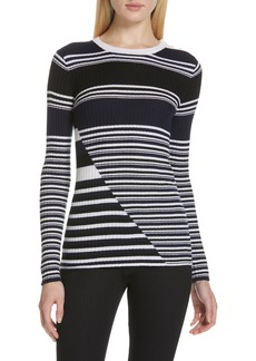 Equipment Desmond Stripe Wool Sweater