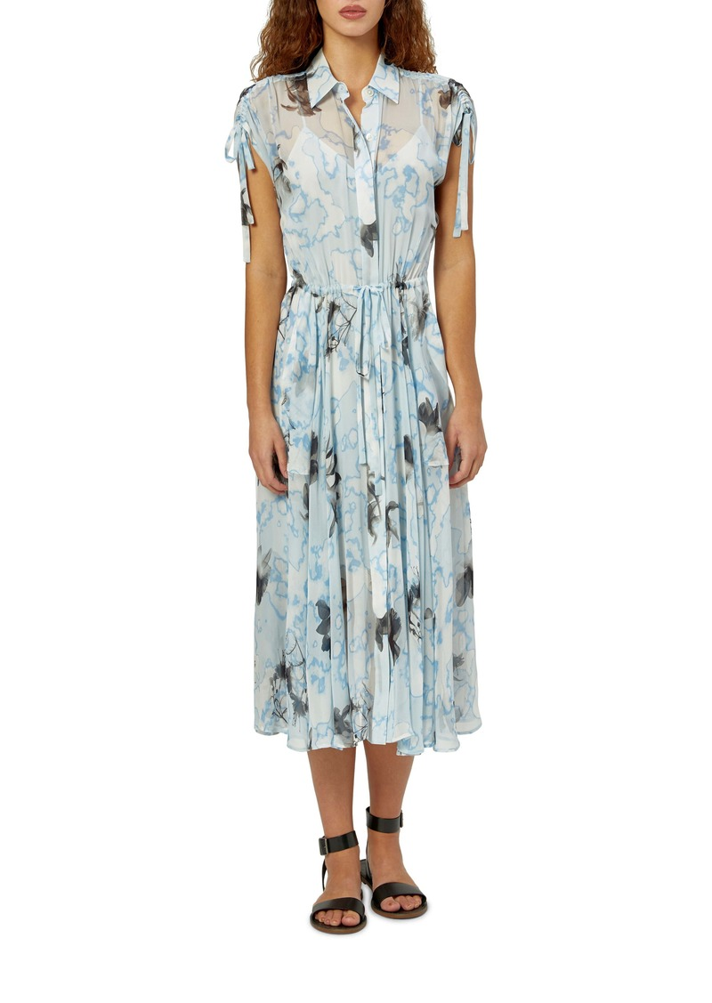 Equipment Didier Silk Midi Dress