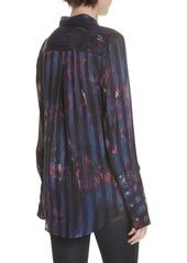 Equipment Eleonore Print Silk Blend Shirt