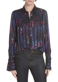 Equipment Eleonore Print Silk Blend Shirt