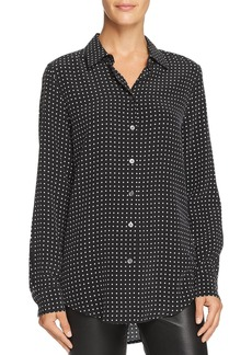 Equipment Essential Dotted Silk Shirt