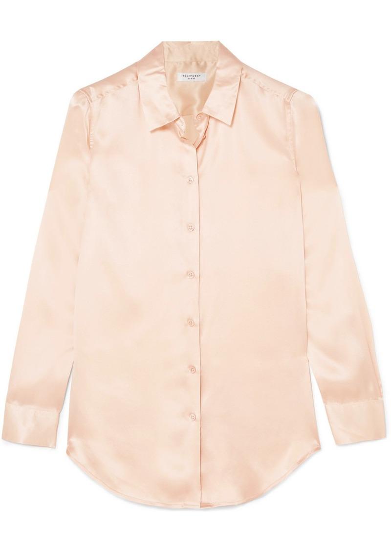 70ba9d63120 Equipment Essential washed silk-satin shirt