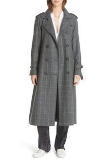 Equipment Everton Wool Blend Trench Coat