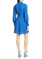 Equipment Fanetta Belted Long Sleeve Wrap Dress