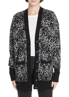 Equipment Fenwick Animal Print Sweater
