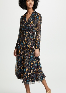 Equipment Fleurs Cascade Vivienne Dress