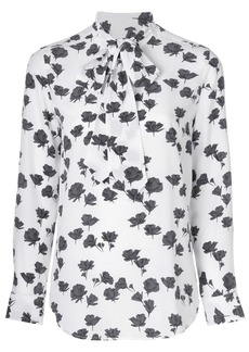 Equipment floral print blouse - White