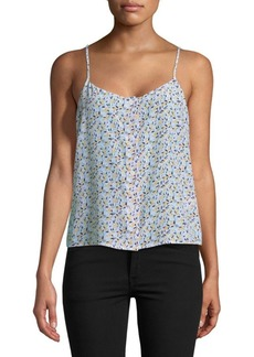 Equipment Floral Silk Camisole