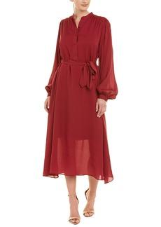 Equipment Francois Silk Midi Dress