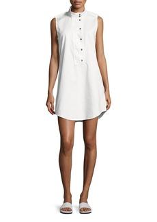Equipment Freda Sleeveless Cotton Shift Dress