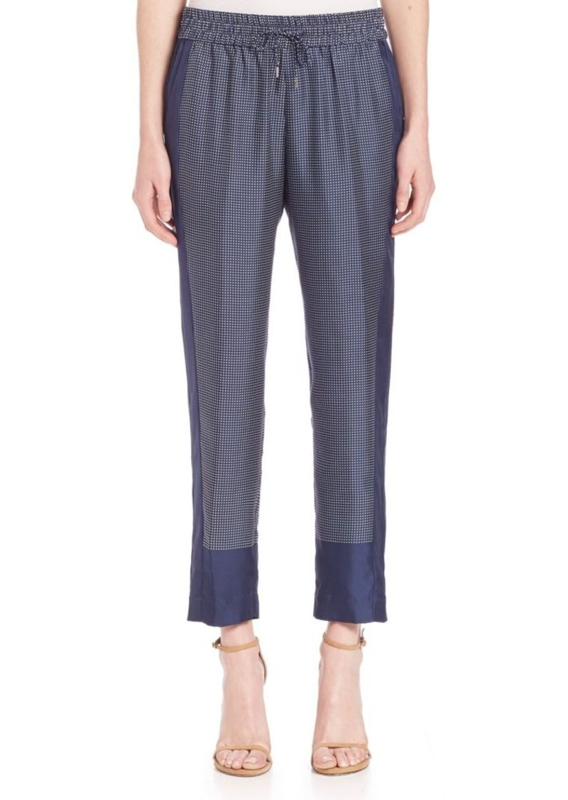 Equipment Hadley Track Silk Pants