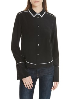 Equipment Huntley Silk Shirt