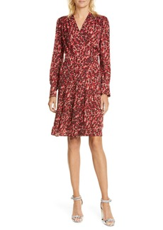Equipment Jenesse Print Long Sleeve Dress