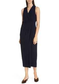 Equipment Katherine Wrap Midi Dress