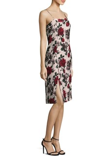 Equipment Kelby Floral Silk Dress