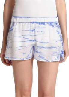 Equipment Landis Silk Shorts