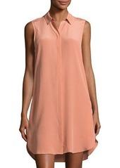 Equipment Lanie Silk Sleeveless Shirtdress