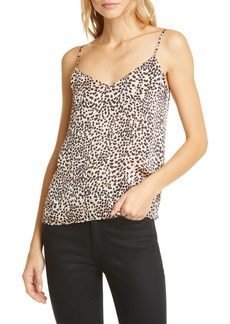 Equipment Layla Animal Print Silk Camisole