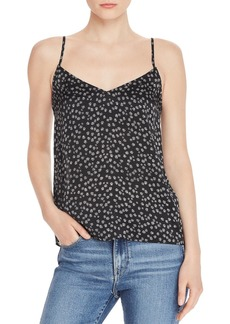 Equipment Layla Printed Silk Camisole Top