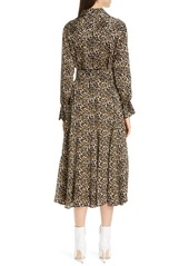 Equipment Lenora Long Sleeve Shirtdress