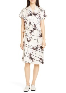 Equipment Leonce Silk Wrap Dress