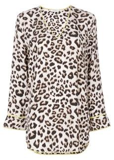 Equipment leopard print blouse - Nude & Neutrals