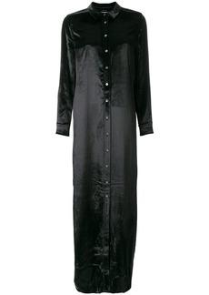 Equipment long shirt dress - Black