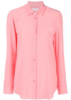 Equipment long sleeved blouse - Pink & Purple