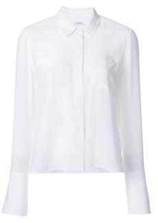 Equipment long sleeved blouse - White