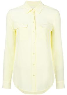 Equipment long sleeved blouse - Yellow & Orange