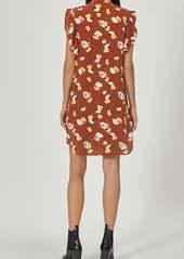 Equipment Lorainna Front Button Silk Dress