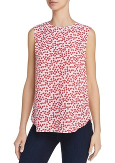 Equipment Lyle Printed Silk Tank