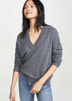 Equipment Madalene Cashmere V Neck Sweater