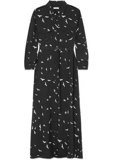 Equipment Major printed silk crepe de chine maxi dress