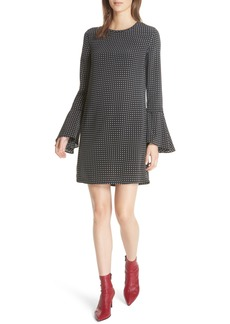 Equipment Mari Dot Mini Dress