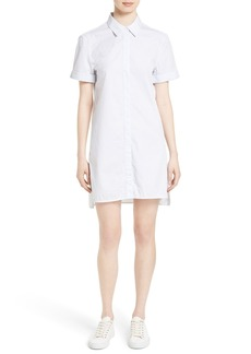 Equipment Mirelle Stripe Cotton Shirtdress
