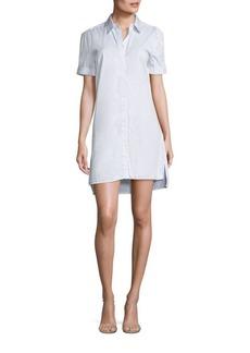 Equipment Mirelle Striped Shirtdress