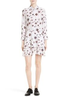 Equipment Natalia Print Silk Shift Dress