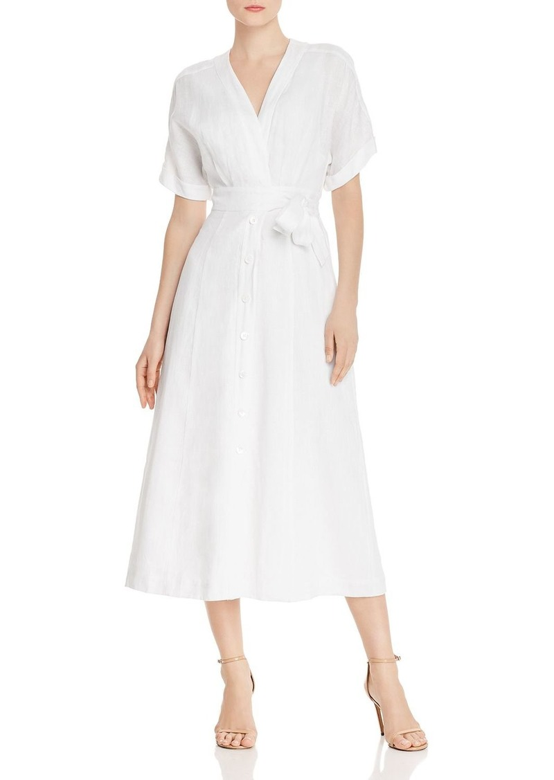 Equipment Nauman Linen Maxi Dress