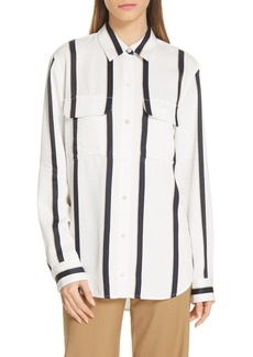 Equipment New Signature Stripe Shirt