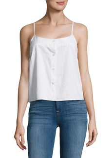 Equipment Perrin Striped Cotton Camisole